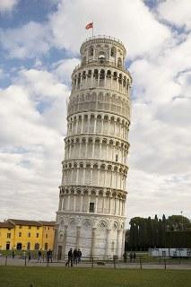 背骨の歪み・ピサの斜塔