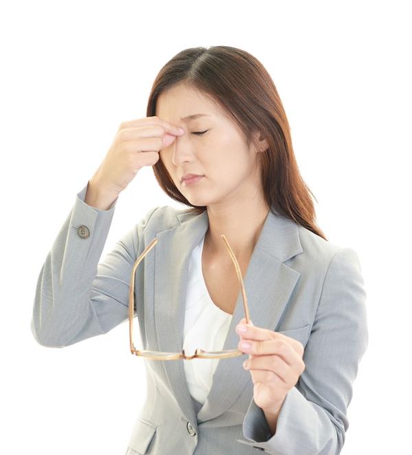 眼精疲労の原因